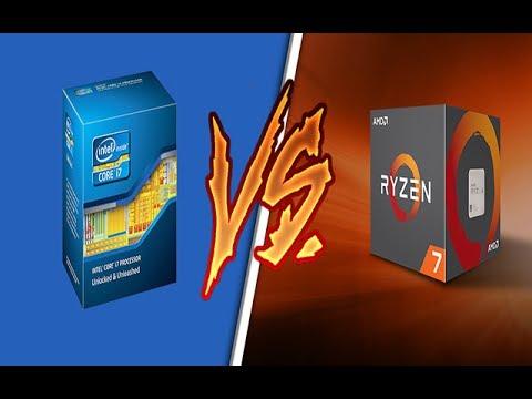 الفرق بين معالجات AMD و Intel - مقارنة سريعة ومفيدة للجميع