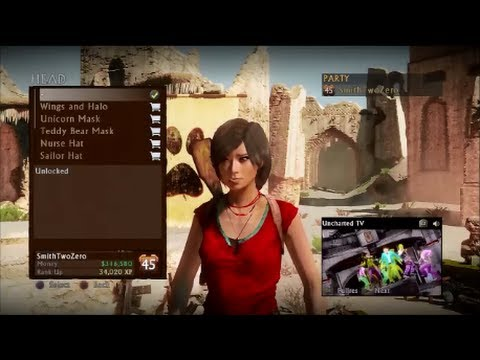 uncharted 3 coop arena chloe gameplay pt 2 youtube