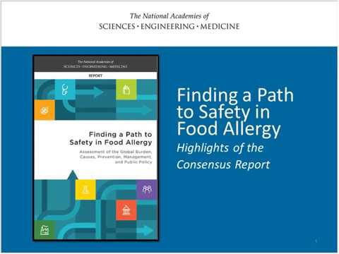 Food Allergies Global Burden, Causes, Treatment, Prevention, & Public Policy: Webinar