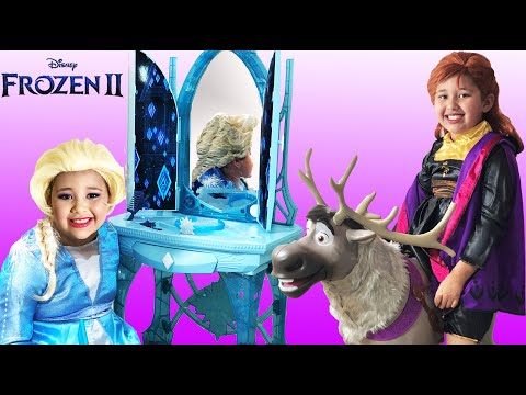 Disney Frozen 2 Elsa And Anna | Makeup Halloween Costumes And Toys