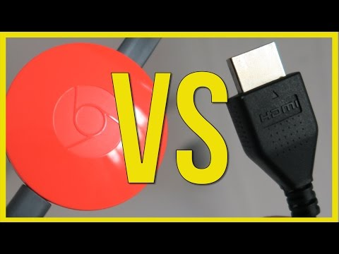 'HDMI Cables Cause Brain Damage!' Buy ChromeCast - How To Cast