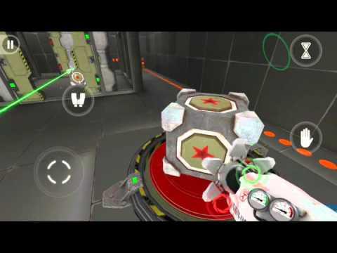 Как пройти Portalize уровень 8 (level8)