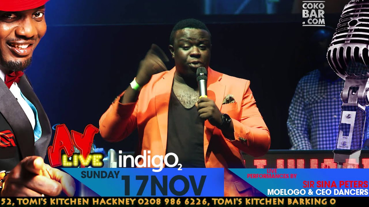 ELENU - NOLLYWOOD MOVIES -  AY LIVE COMEDY SHOW UK SUN17THNOV LONDON INDIGO2 2013