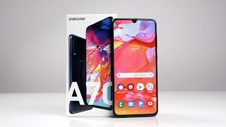 Unboxing: Samsung Galaxy A70 (Deutsch) | SwagTab