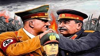 Речь Сталина, Гитлера, Муссолини о второй мировой войне