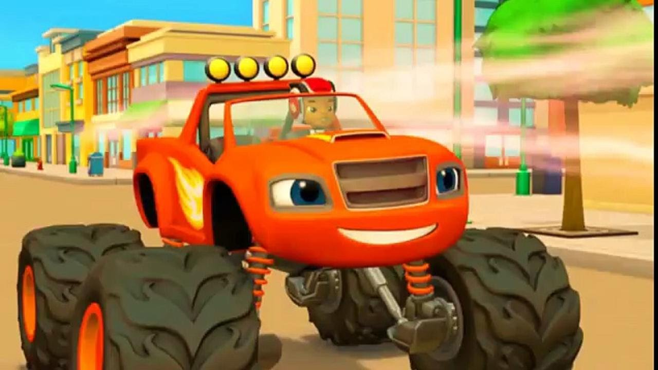 Blaze and the monster machines s01e02 the driving force for Blaze episodi