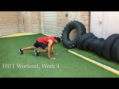 HIIT for novices Week 4 Cardio Times