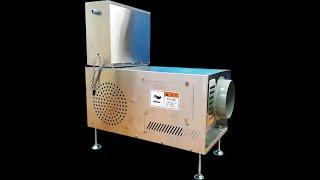 농업용전기온풍기 따사로비 12000 + 시설하우스 난방
