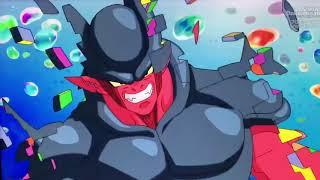 Goku and Xeno Goku Fight Together Vs Janemba