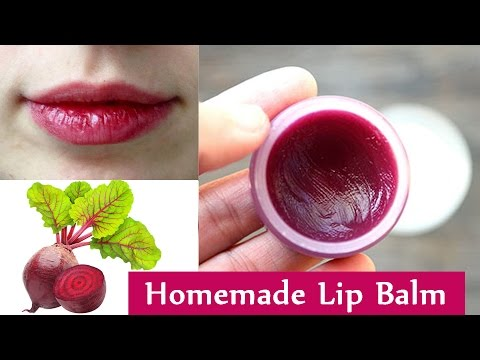 How to make lip gloss at home naturally