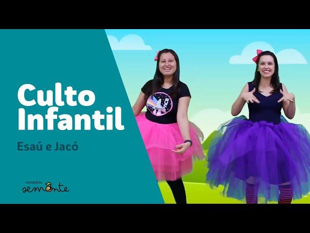 Culto Infantil - Esaú e Jacó - 18.10.2020