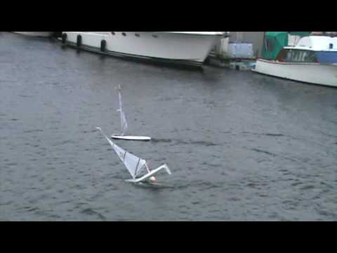 Rc Laser Sailing In Nanaimo Youtube