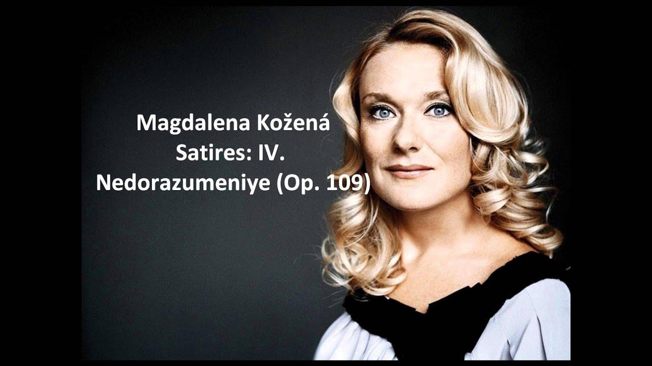 """Magdalena Kožená The plete """"Satires Op 109"""" Shostakovich"""