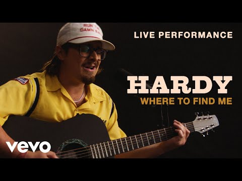 """HARDY - """"Where To Find Me"""" Live Performance 