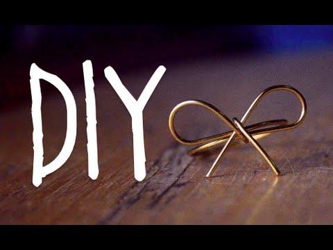 Diy Bow Ring