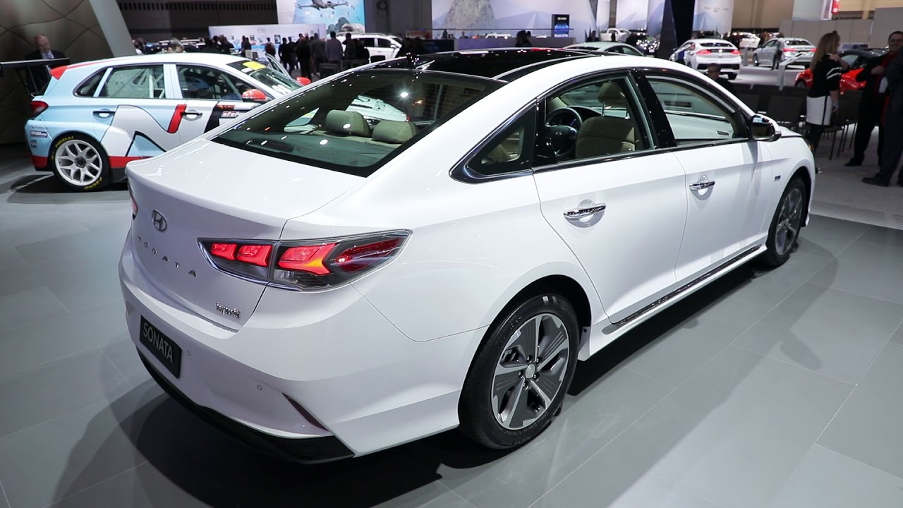 Hyundai Sonata Hybrid 2018 >> 2018 Hyundai Sonata Hybrid Video Preview Youtube