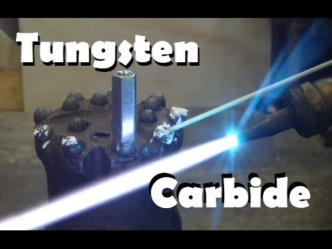 How to recover tungsten carbide from drill bits