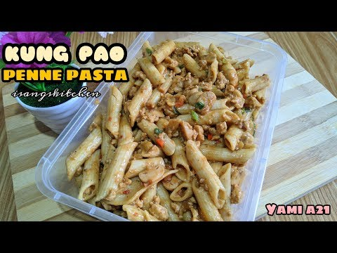 KUNG PAO PENNE PASTA| HOW TO MAKE EASY PASTA RECIPE| SPICY PASTA RECIPE