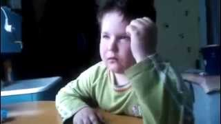 Прикол как Мальчик учит очень трудный стих. Очень смешное видео. 18+.Прикол. Юмор. Ржака.