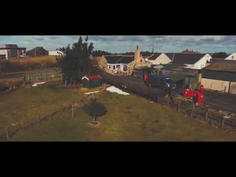 Property For Sale, Bracken Cottage, Waskerley, England.  Mavic Air drone Video