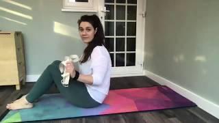 Myofascial release (hamstrings and hips)