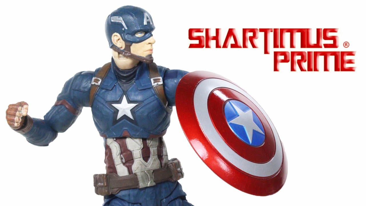 "Battle Crushed Shield For Marvel Legends 6/""  Captain America New"