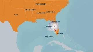 Hurricane Irma zieht über Florida: Miami unter Wasser, über drei Millionen Haushalte ohne Strom,