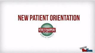 New Patient Orientation