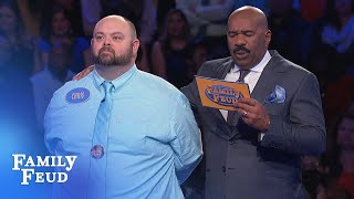 BEN and CHRIS bring home the BACON!!! | Family Feud