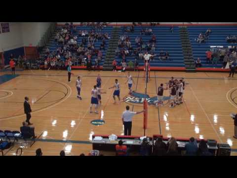 Men's Volleyball 3-2-2017 SUNY New Paltz vs Springfield College