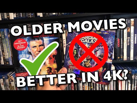 Why Do Older Movies Look Better In 4K?