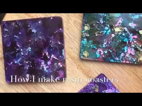 How I make my Epoxy Resin Coasters