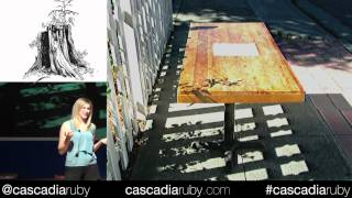 Cascadia Ruby 2012 - Diy Standing Desk: Make A Custom, Rad Looking Standing Desk By Jessica Allen