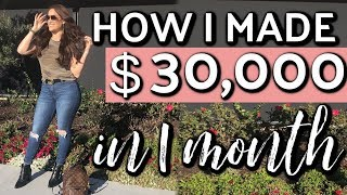 Exactly how I make $30,000 per month on social media | Boss babe episode 12