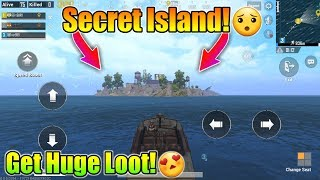 Secret Island To Get Huge Loot In Pubg Mobile | Many People Don't Go There