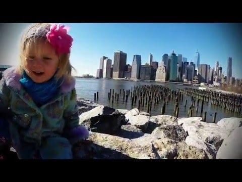 Marianna Explores New York City, Manhattan & Brooklyn, NY by AirQuad Drone Team