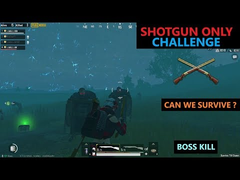[Hindi] PUBG Mobile | Amazing Shotgun Only Challenge In Zombie Mod