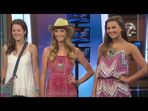 Summer music festival fashion trends