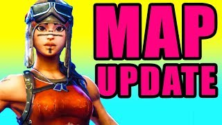 NEW Map Update! ⚠️ Fortnite Fortnite Battle Royale New Map PC Gameplay