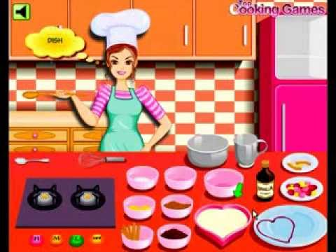 العاب طبخ فلاش لعبة طبخ كعكة فرنسية Youtube