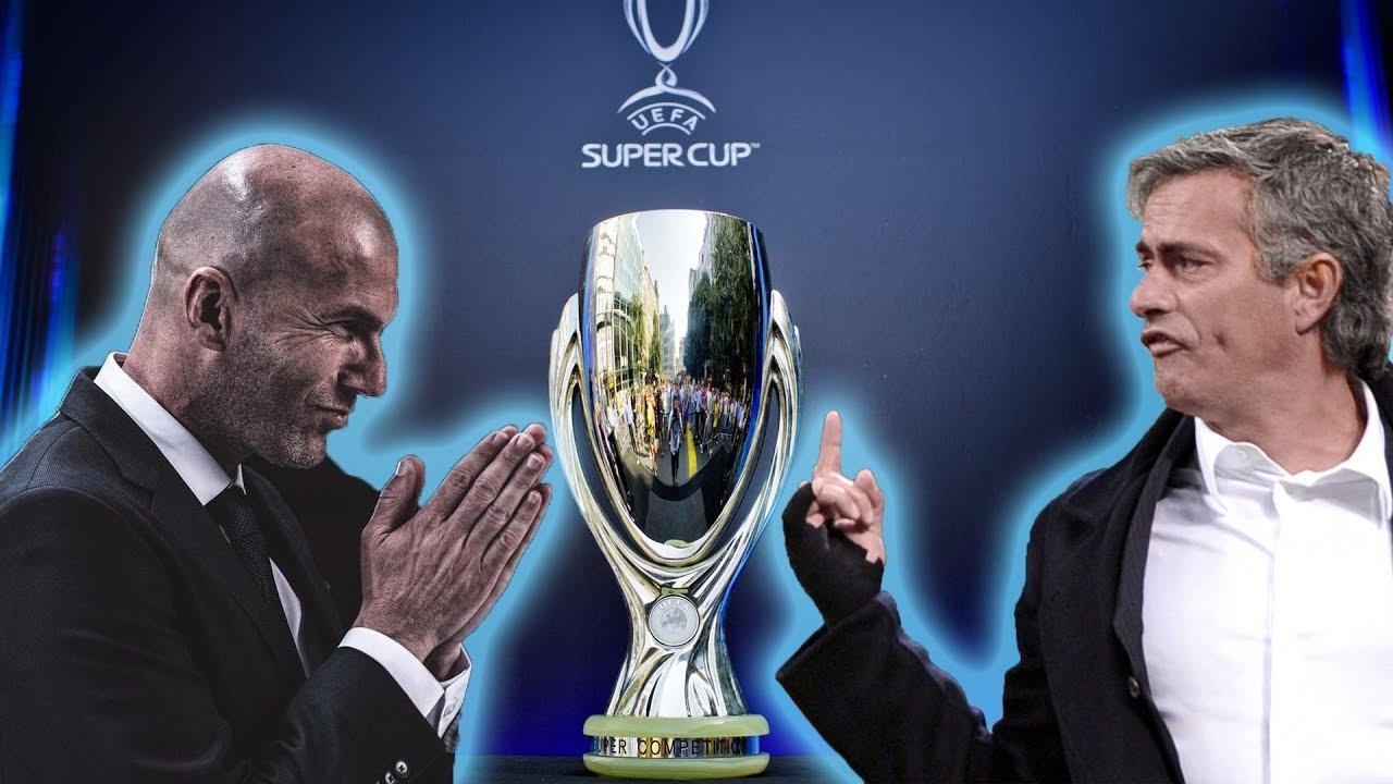 Суперкубок УЕФА Реал Мадрид Манчестер Юнайтед