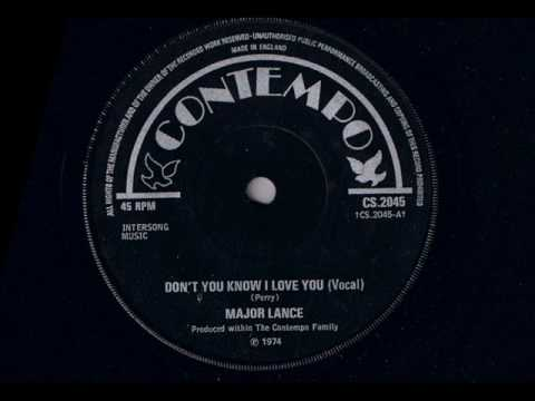 aec98f0b762f Major Lance - Don't You Know I Love You - Modern Soul Classics - YouTube