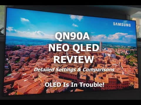 Samsung QN90A Neo 4K QLED Review - OLED Is In Trouble!