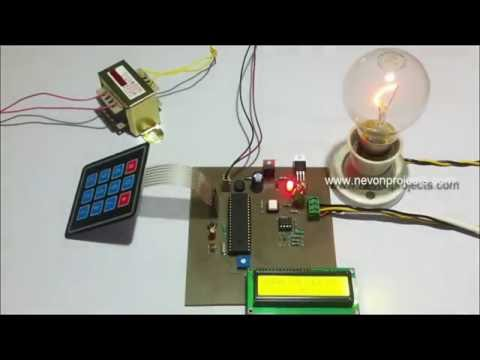 Programmable AC Power Control Using PIC
