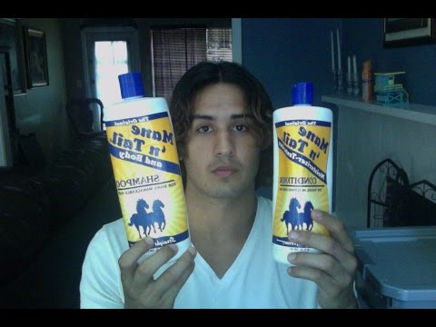 Mane 'n Tail Shampoo & Conditioner Review | Men's Long Wavy Hair