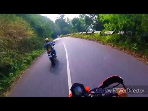 Duke390 at iritti wayanad roads kerala gods own country