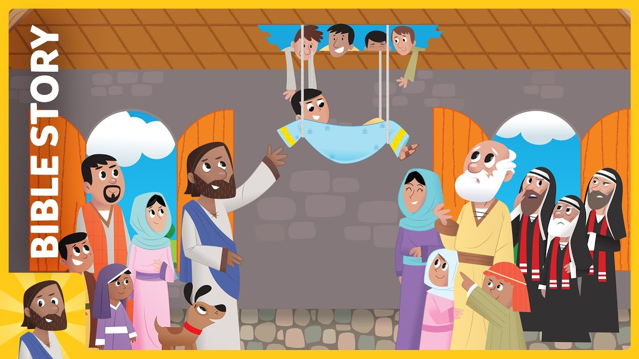 Bible App For Kids Through The Roof Youtube