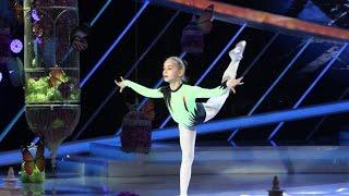 Miruna, moment spectaculos de gimnastică, la Next Star