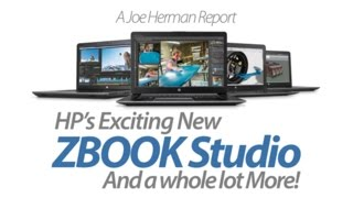 the new hp zbook studio mobile workstation and other new hp products