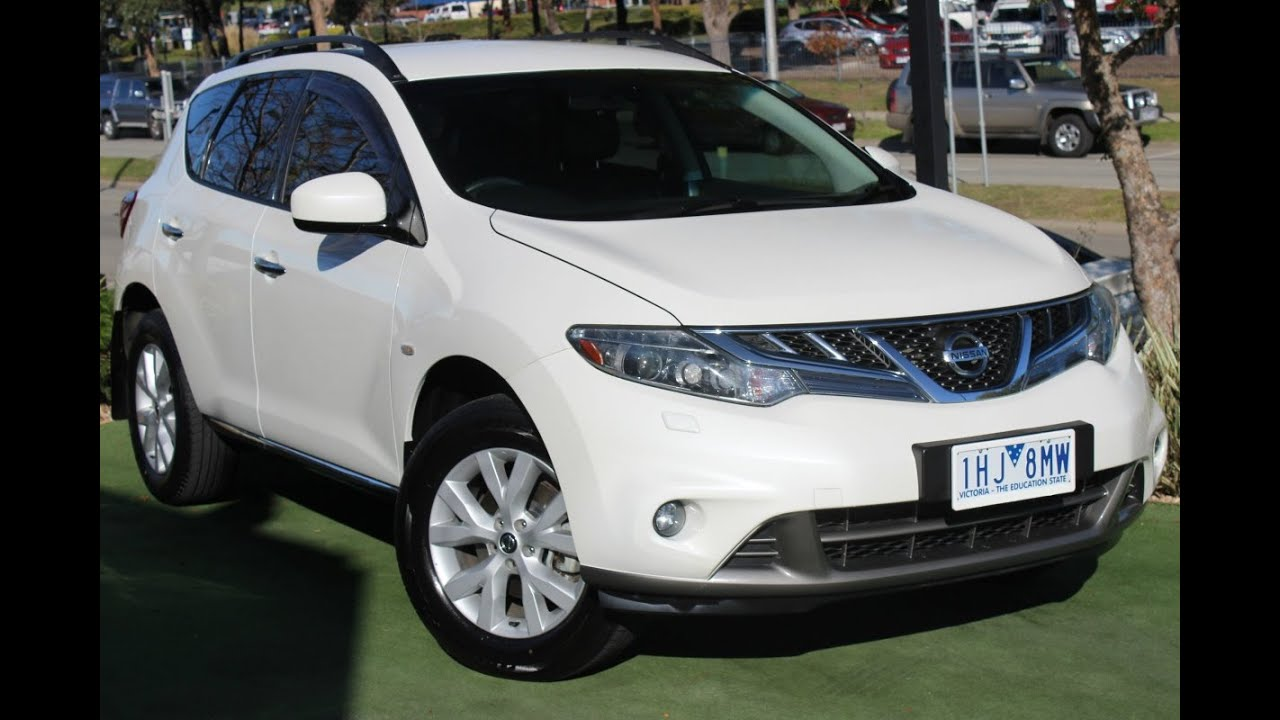 B5346 2012 nissan murano st z51 series 3 auto 4x4 review youtube b5346 2012 nissan murano st z51 series 3 auto 4x4 review vanachro Gallery